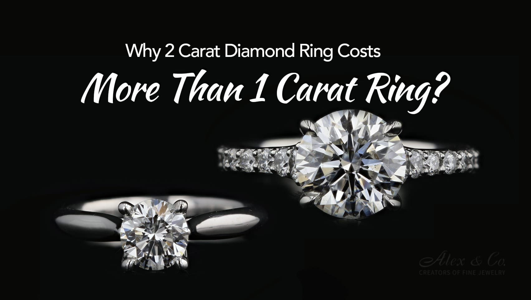 Why 2 Carat Diamond Ring Costs More Than 1 Carat Ring featured image